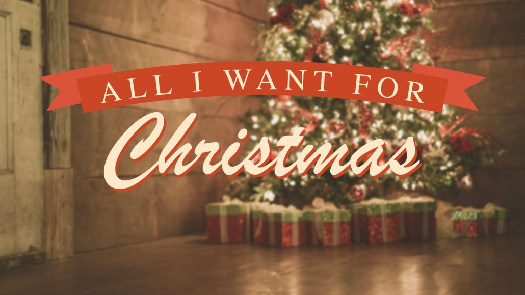 All i want for christmas is you clip art clipart